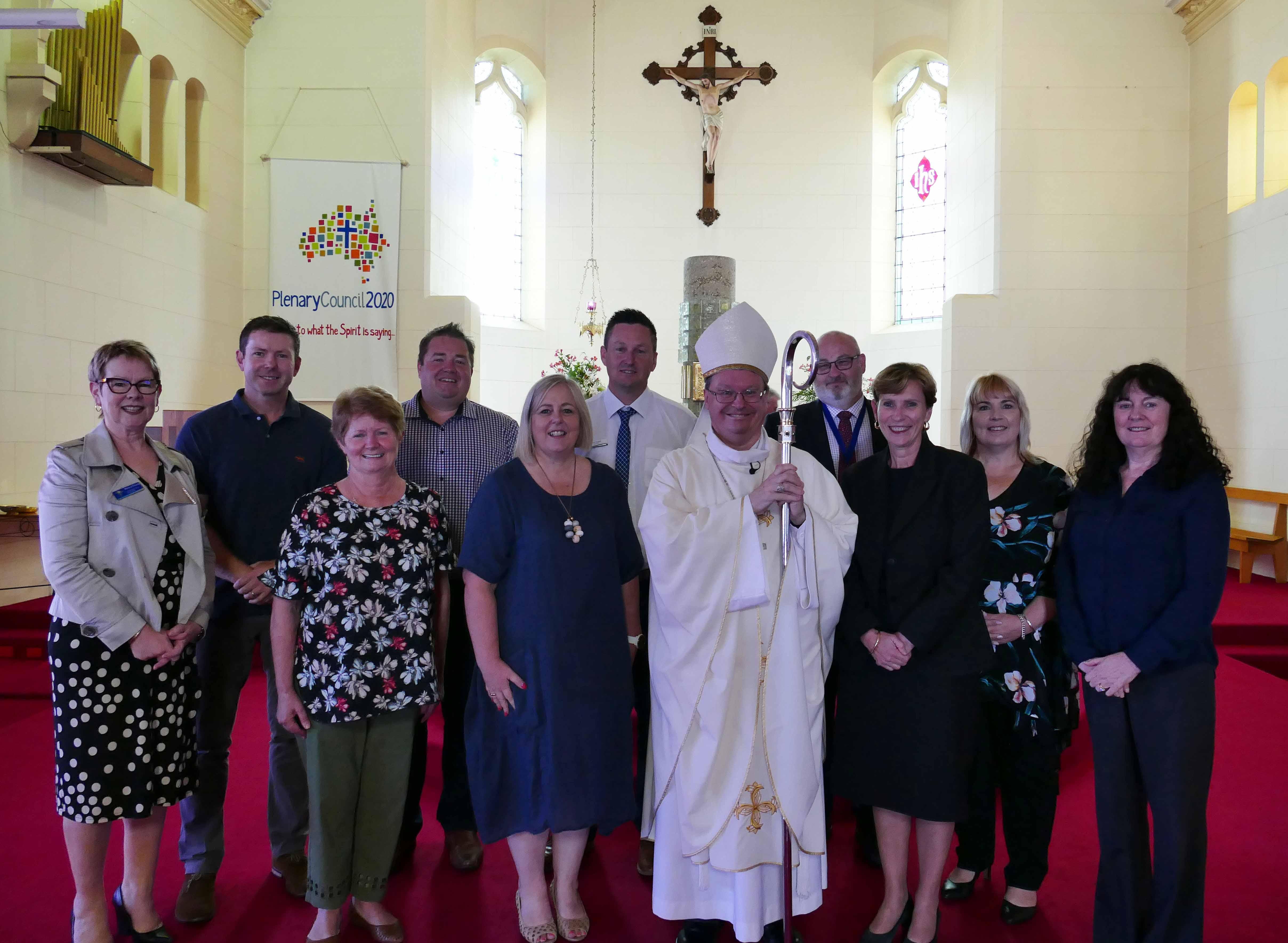 Latrobe Vallley opens school year mass