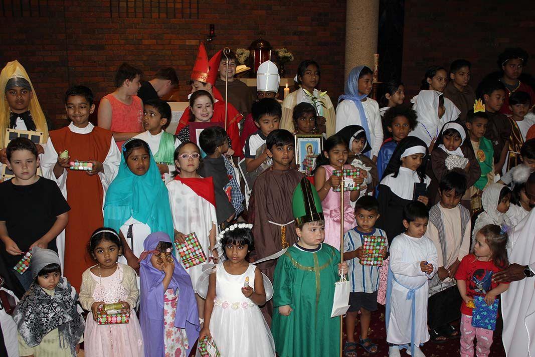 All Hallows Children dress up at Cranbourne parish