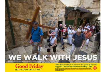Good Friday holy Land Appeal