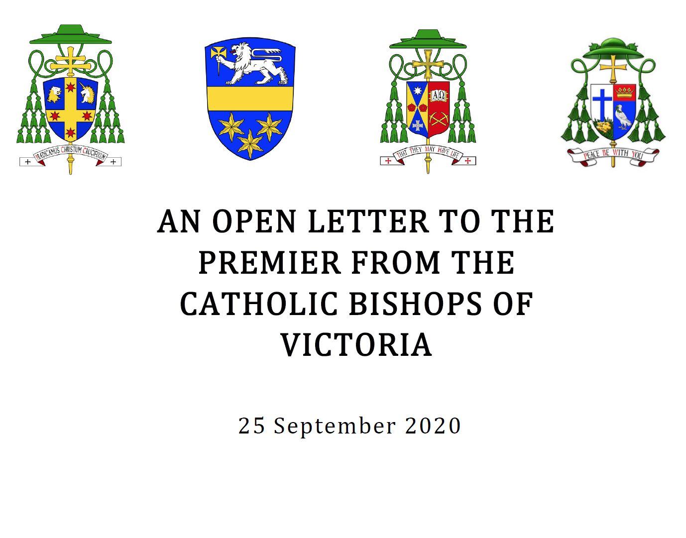 Open Letter to Victorian Premier