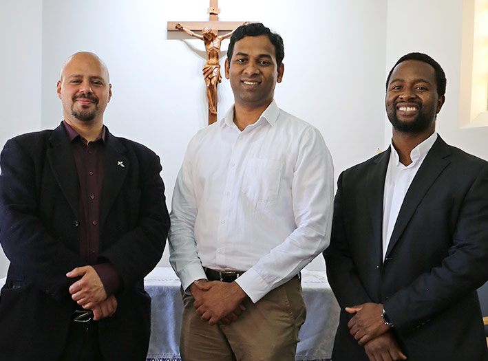 Three deacons for ordination 2020